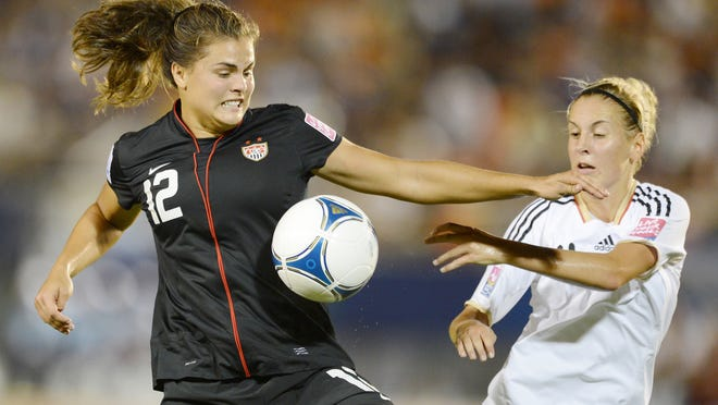 Katie Stengel, a Viera High graduate and member of FC Bayern Munich, will play for the U.S. Women's Under-23 National Team later this month.