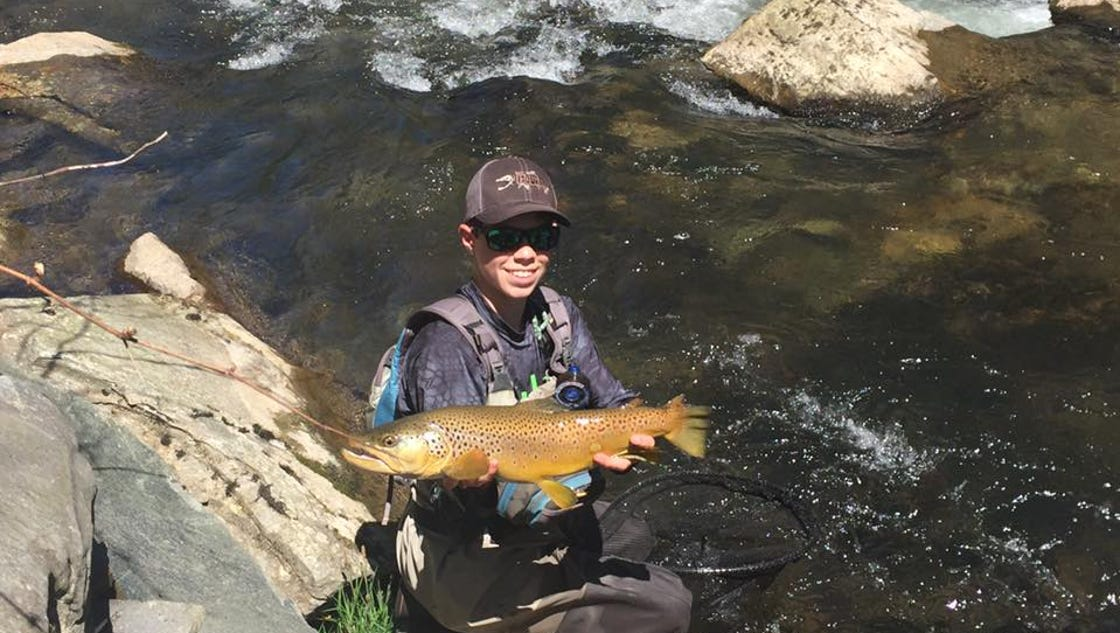 Smoky 39 s boyer makes u s youth fly fishing team for Fly fishing team usa