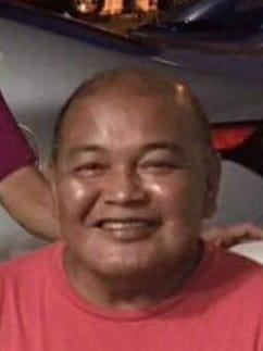 Frank San Nicolas Chargualaf, 63, of Talofofo, suffered a heart attack while driving and died before his car hit a concrete barrier