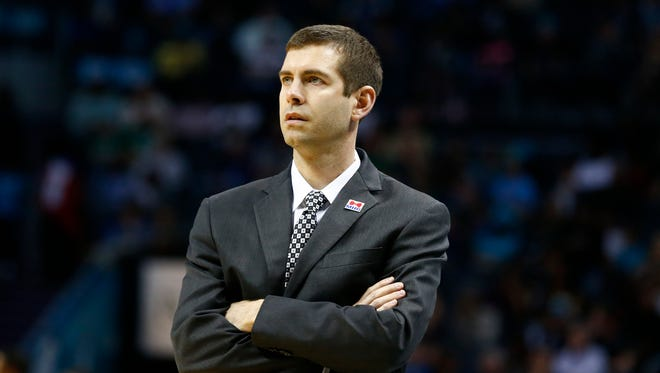 Brad Stevens has been noted for his calm demeanor on the sideline.