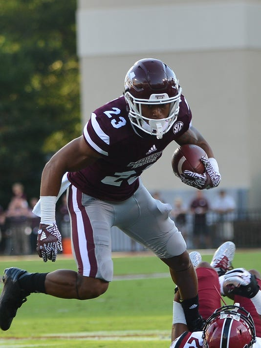 NCAA Football: South Carolina at Mississippi State