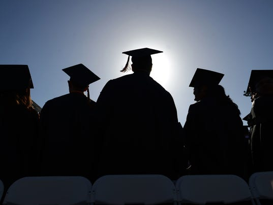 AP HIGH SCHOOL GRADUATION RATES A FILE USA CA