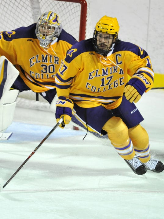 Elmira College men's hockey team tries for better start