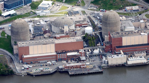 The Indian Point Nuclear Power Plant in Buchanan May 9, 2017.