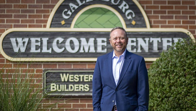 Randy Newcomb is the new director of the Galesburg Area Tourism & Visitors Bureau.