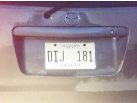 A witness took a photo of the suspected car's license