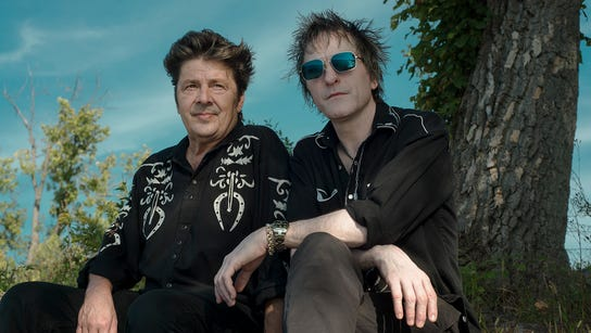 Chip Roberts and Tommy Stinson are touring in Cowboys