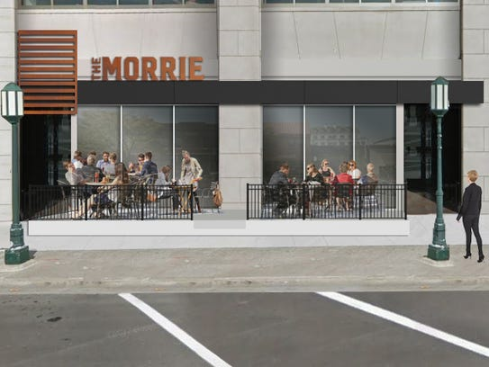 The Morrie in downtown Birmingham will have outdoor