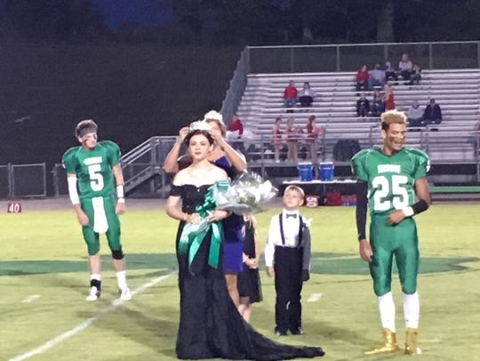 2017 Houston County High School Homecoming Queen Emily