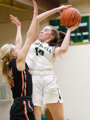 Howell's Kaylee Wendel (10) has been a solid contributor on a season-led team that has hopes for a long postseason run.