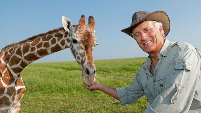Jack Hanna and some of his animal friends will be featured Friday at Kimberly High School in a benefit for Mosquito Hill Nature Center.