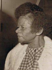 Ruby McCollum in 1973