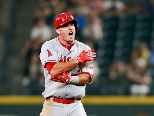 960aa99b Mike Trout, Angels have playoff hopes in reach