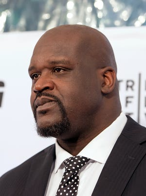 """Shaquille O'Neal attends the ESPN Gala: """"30 For 30: This Magic Moment"""" Screening during the 2016 Tribeca Film Festival."""
