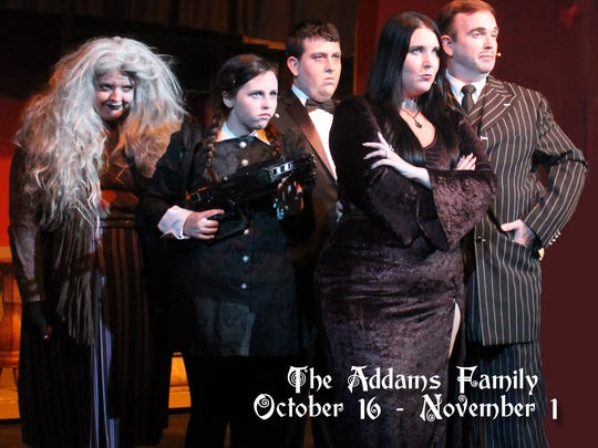 'The Addams Family,' a musical, will take stage at Center for the Arts.