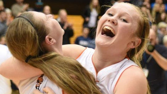 Silverton sophomore Maggie Roth (right) is not related