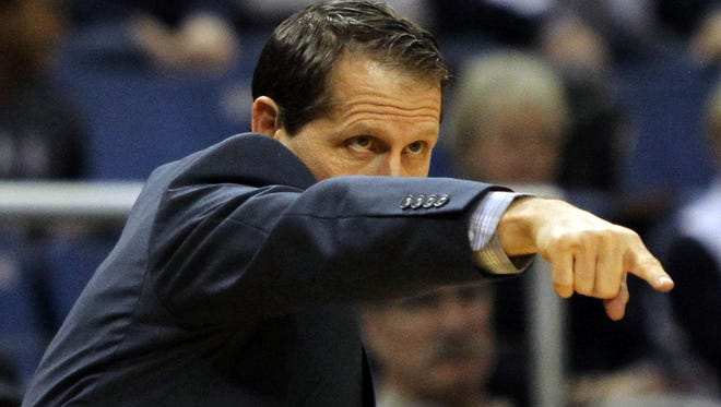 Coach Eric Musselman revitalized the Wolf Pack basketball program during the 2015-16 season.