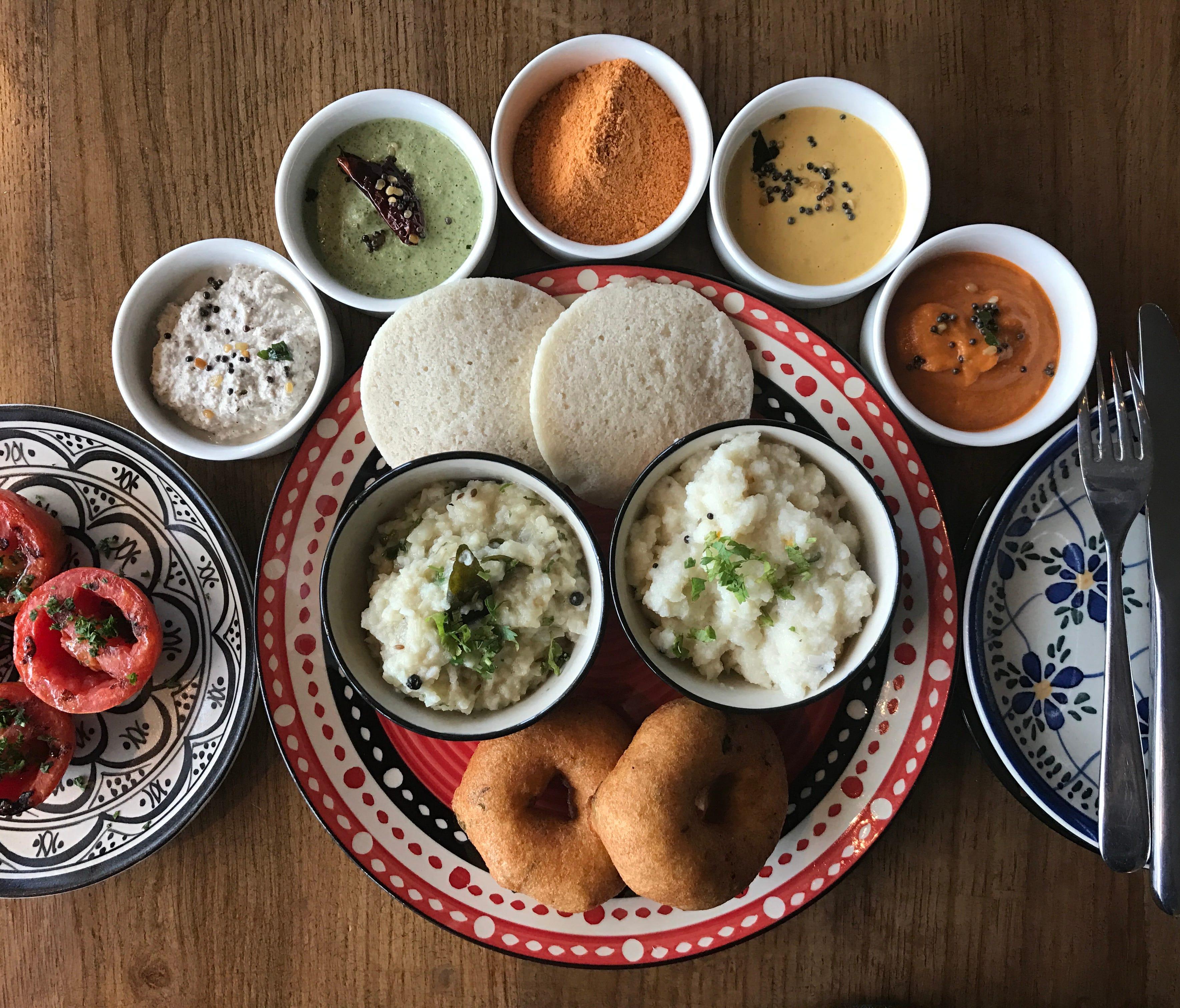 Andaz Delhi serves