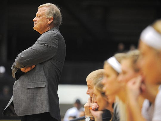 Dave Krauth is entering his 30th year as Augustana coach