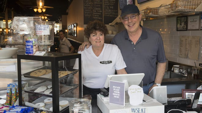 Susan Shapiro and business partner Dean Ross, along with Matt Kaplan (not pictured) opened Shapiro's New York Style Delicatessen in January on Broad Street in Red Bank.