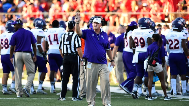 Jay Thomas leads Northwestern State into the annual Delaney Bowl on April 16.
