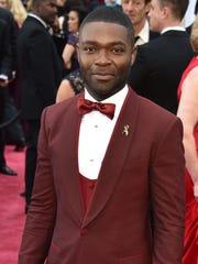 David Oyelowo at the Oscars in February 2015 for 'Selma.'