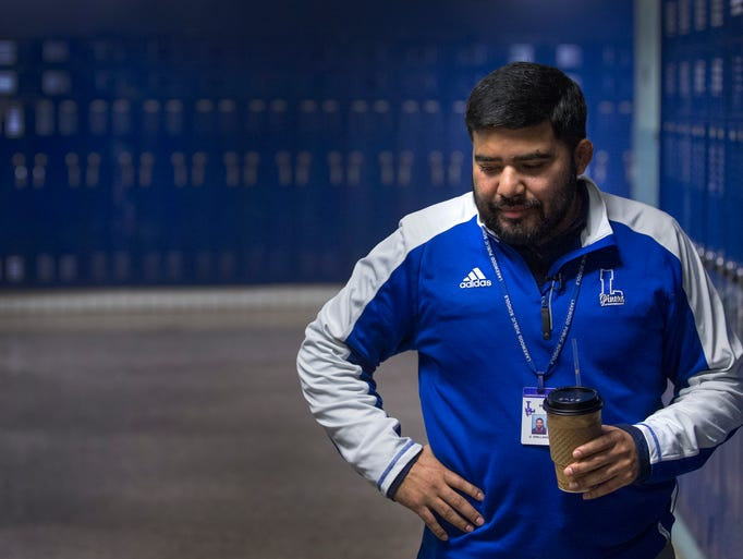 Lakewood High School Wrestling Coach Oscar Orellana