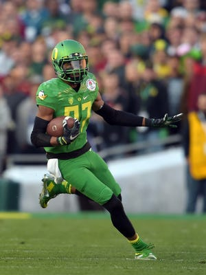 Oregon Ducks wide receiver Darren Carrington was suspended for the College Football Playoff championship game after testing positive for marijuana.