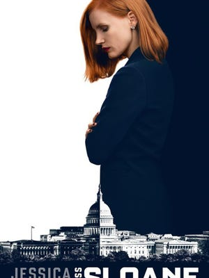 """Jessica Chastain stars in the film """"Miss Sloane."""""""