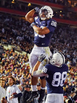 Running back Saquon Barkley is coming off a sensational sophomore season and is just one of a number of Nittany Lions receiving immense preseason hype.