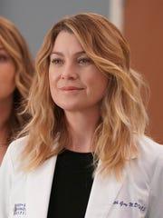 Ellen Pompeo as Meredith on 'Grey's Anatomy.'