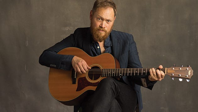 Singer-songwriter Andrew Peterson plans to share his love of literacy and his music at a concert Feb. 20 in Jackson.