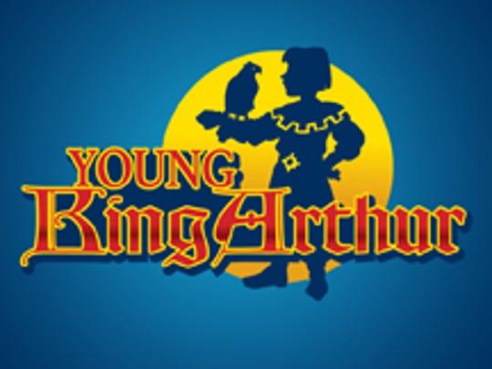 Young King Arthur logo