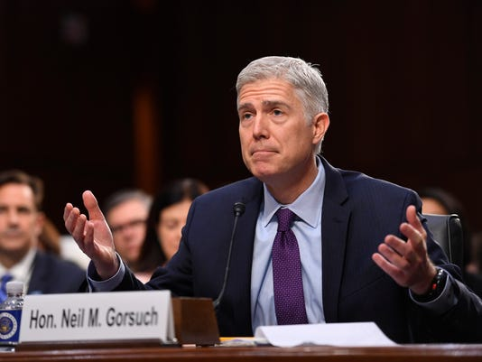 Neil Gorsuch confirmation