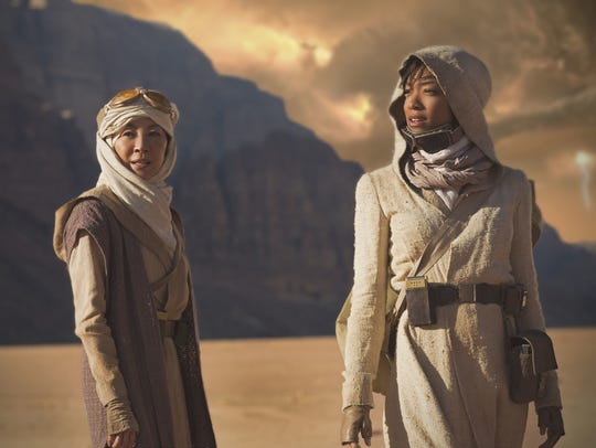 Michelle Yeoh and Sonequa Martin-Green star in the