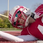 The Victoria's Secret Angels play football in their new Super Bowl commercial.