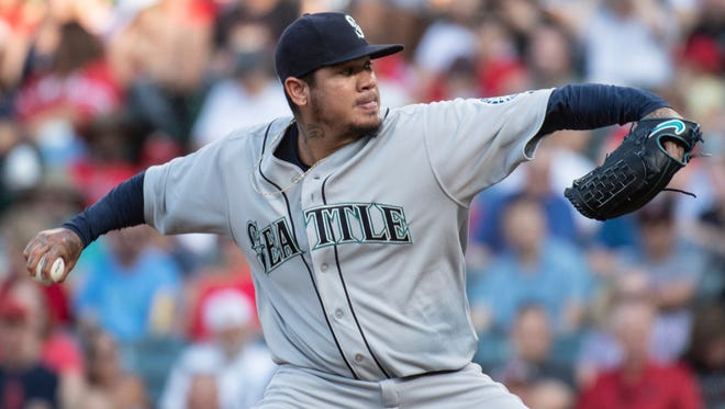 Felix Hernandez said his start in Anaheim on Saturday, in which he allowed seven runs without getting out of the third inning, was the worst of his career.