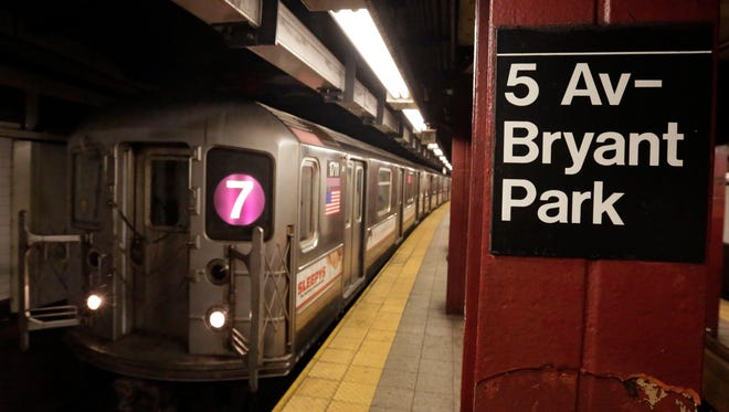 Mass transit is a staple of life in New York City.