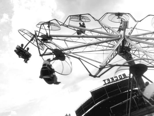 Amusement ride from 1960