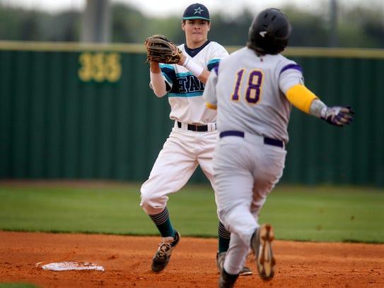 Siegel's Drew Benefield is one of two Siegel baseball