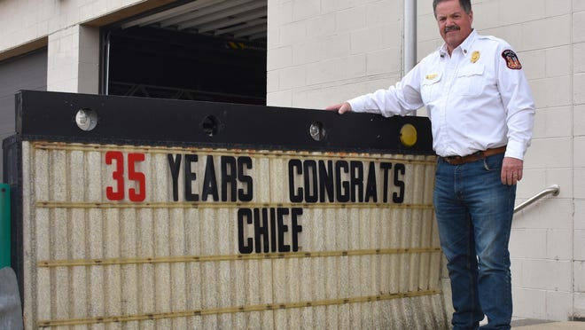 Tim Shaw spent 35 total years with the Addison Fire Department, serving 29 years as fire chief. He officially retired from the department on Wednesday, Sept. 30.