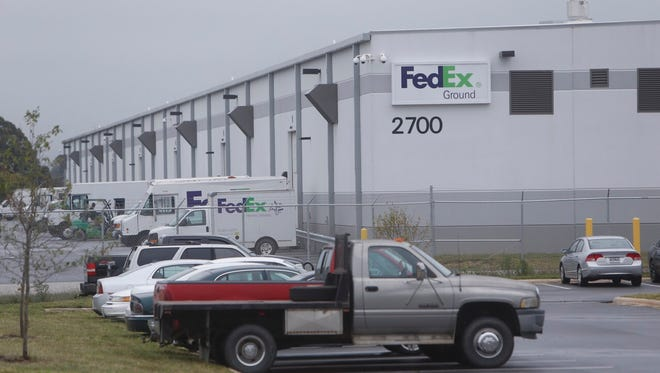 The Springfield Fire Department received a call for someone trapped in a conveyor belt at a FedEx building located at 2700 N. Mulroy Road on Friday, October 14, 2016.