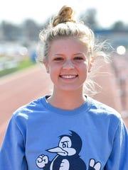 Cadie Kiser, Chambersburg girls cross country