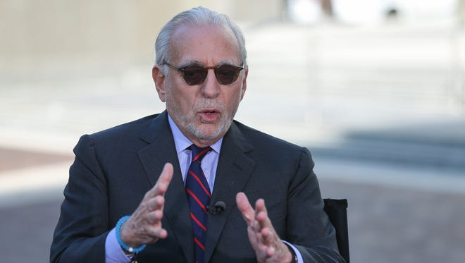Trian Partners CEO Nelson Peltz is interviewed by CNBC's Sara Eisen after losing the shareholder vote for a seat on Procter & Gamble's board, Tuesday, Oct. 10, 2017, in Cincinnati.