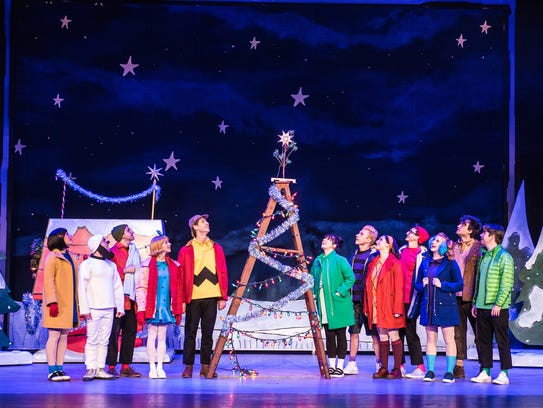 """A Charlie Brown Christmas,"" a live musical stage version"