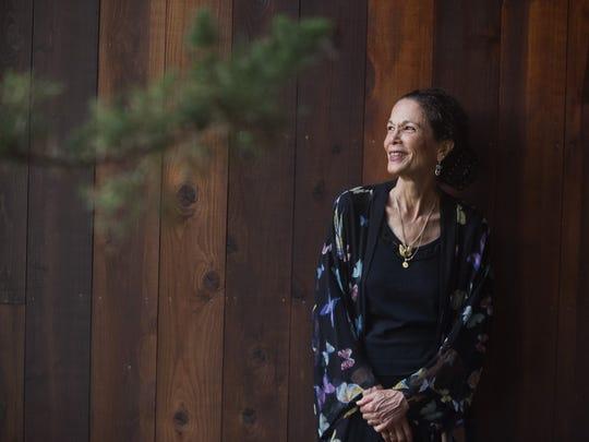 Vermont author Julia Alvarez at her home in Weybridge in 2013.