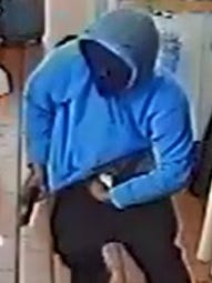 The Livingston County Sheriff's Office is asking for help identifying a man who robbed an Arby's at located at 10099 E. Highland Rd. in Hartland Township about 10:30 p.m. Monday.