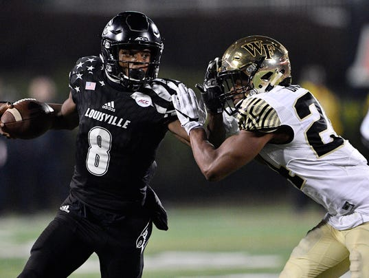 NCAA Football: Wake Forest at Louisville