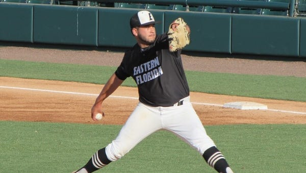 Former Eastern Florida State College pitcher Tommy Romero joins the Tampa Bay Rays,