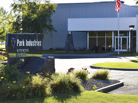 Park Industries is shown in 2014 at its location on